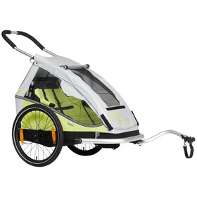 "XLC Mono 8teen BS-C08 Kindertrailer 20"", lime/silver"